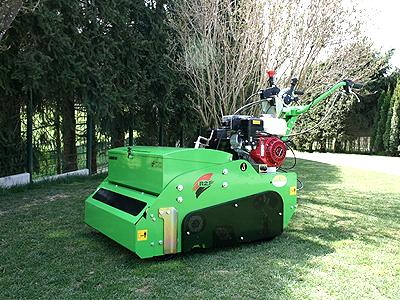 Leje af såmaskine til græs